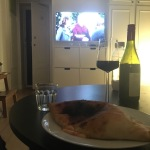 Så pizza blev det. Dessutom tv-middag (Netflix och Life in Pieces - sååå bra!). Värt.